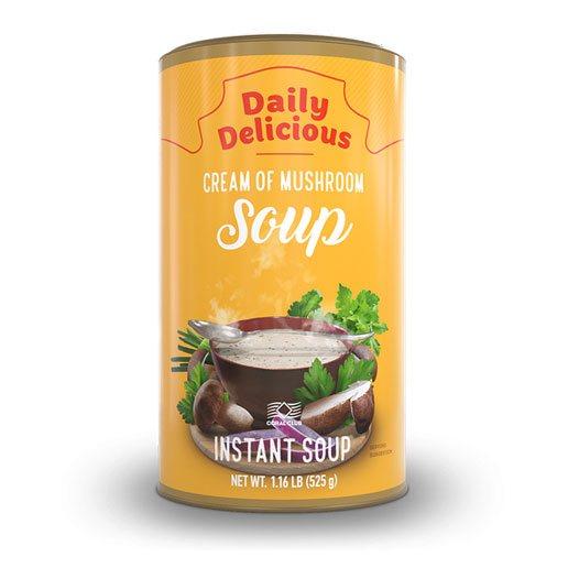 Дейли Делишес крем-суп с белыми грибами
